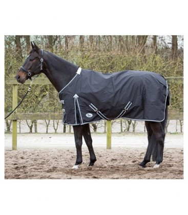 Попона Thor rug black, fleece lining