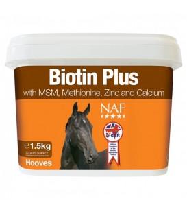 """Подкормка для здоровья копыт лошади """"Biotin Plus"""", 1,5кг."""