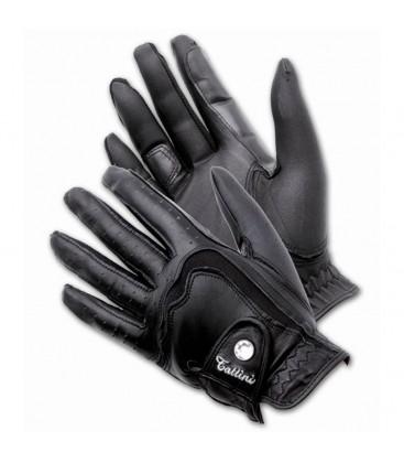 """Перчатки кожаные """"Rhinestone"""""""